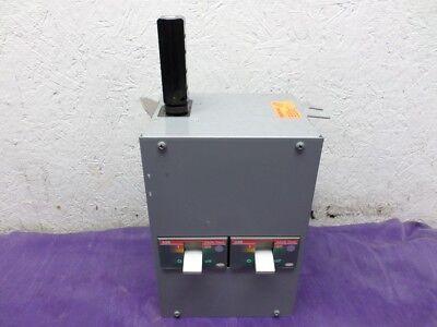 Starline Busway Tap Box W 2 Abb 30 Amp 3ph Breaker Cbmdc225he37-6 2530c6s-4