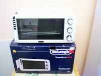 mini oven with grill new delonghi in box from currys