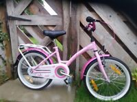 Girls bicycle 18""