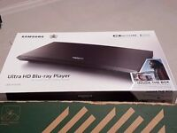 Unwanted Brand new/sealed SAMSUNG UBD K8500 BLURAY PLAYER ULTRA HD + 3 UHD DVDs