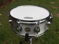 DW Collectors Aluminium snare 13x5.5