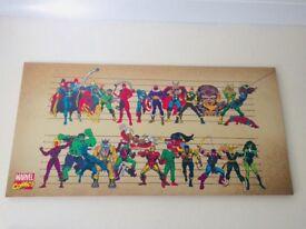 Large Avengers Canvas