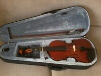 Childs 1/2 size violin with bow & case Hollywood, Birmingham