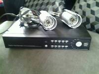 Dvr + 2 infra red cameras