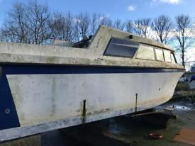 Volvo penta engines n legs with project boat
