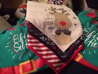 Christmas vests and bibs