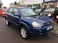 Hyundai Tucson 2.0 CDX 4wd Leather, Climate, 2 Owner FDSH (blue) 2008