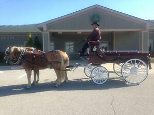 Horse drawn Funeral Caisson services