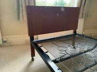 Single bed frame- free