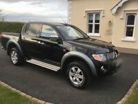 2008 Mitsubishi L200 Warrior D-ID 4WD (LOW MILEAGE)