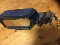 BMW E53 X5 NEAR SIDE, PASSENGER SIDE MIRROR IN BLUE 364 tm auto