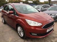 Ford C-Max 2.0 TDCi Titanium Powershift 5dr (start/stop)£11,500 1 YEAR FREE WARRANTY. NEW MOT