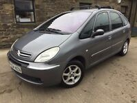 04 CITROEN PICASSO AUTOMATIC,12 MONTHS MOT,HPI CLEAR,LOW MILEAGE,GOOD CONDITION,RARE AUTO GEARBOX