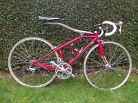 Vintage Allsop Softride Racing Bike. Road Race Cycle Very Rare