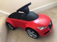 Audi toy ride on