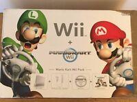Nintendo Wii, Mario Kart & Accessories, Wii Fit & Balance Board