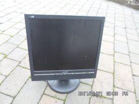 Philips LCD colour monitor, Model 170B5, 17 inch (diagonal) screen