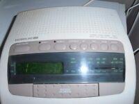 An AUDIOLINE TC1 Talking Clock / Radio with duel ALARM ,