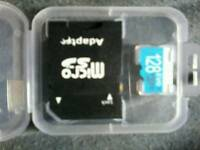 128 gb memory card sd micro