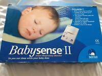 Baby sense II infant respiratory monitor