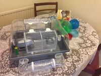 Hamster Cage & Accessories Free