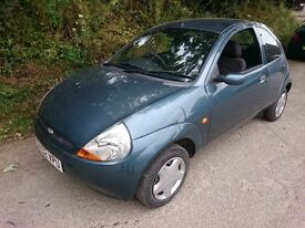 FORD KA COLLECTION 1.3 - 66,000 MILES - FULL M.O.T. - IDEAL FIRST CAR - RELIABLE AND CHEAP TO RUN