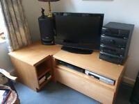 TAPLEY corner tv cabinet