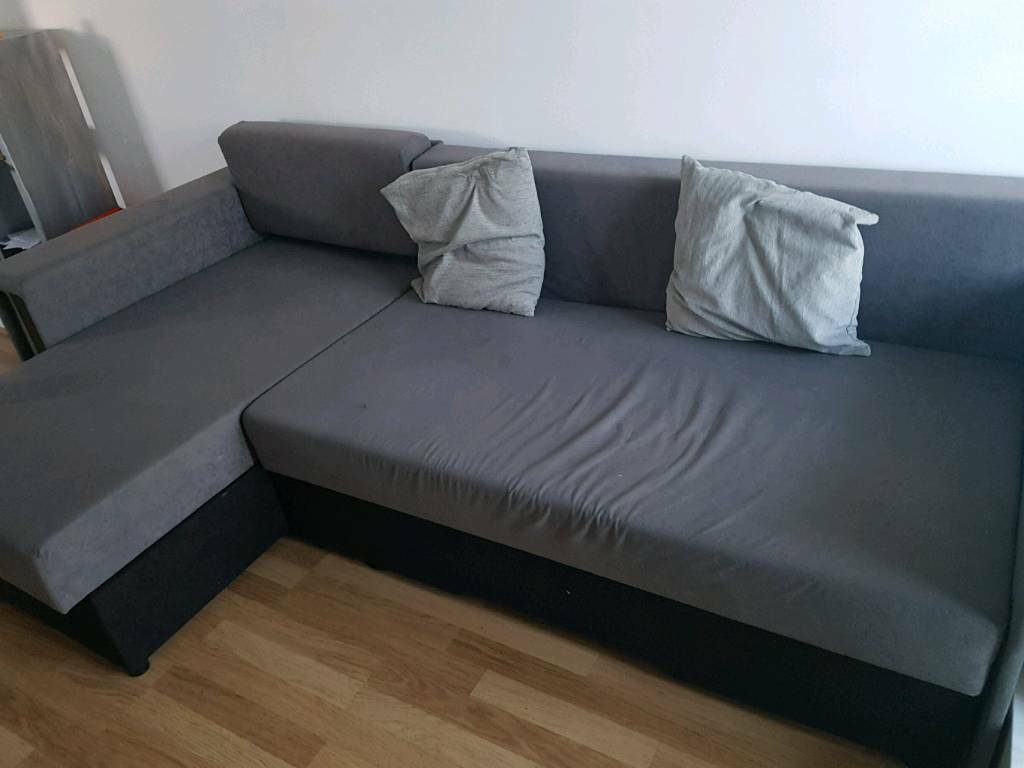 Sofa L Shaped Plenty Of Storage And Turns Into Large
