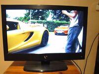 "LED TV 22"" FLAT SCREEN FREEVIEW HDMI USB"