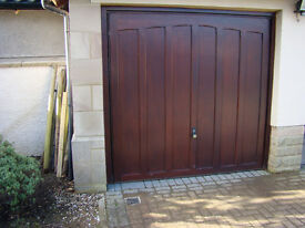 2 Hormann up and over electric garage doors