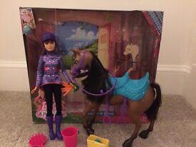 Barbie Skipper and Horse