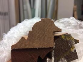 Bolection moulding sapele hardwood