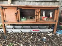 5ft rabbit/guinea pig hutch