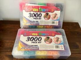 2 x 3000 Loom Band New And Sealed