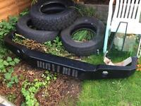 Land Rover Discovery 2 Heavy Duty Bumper