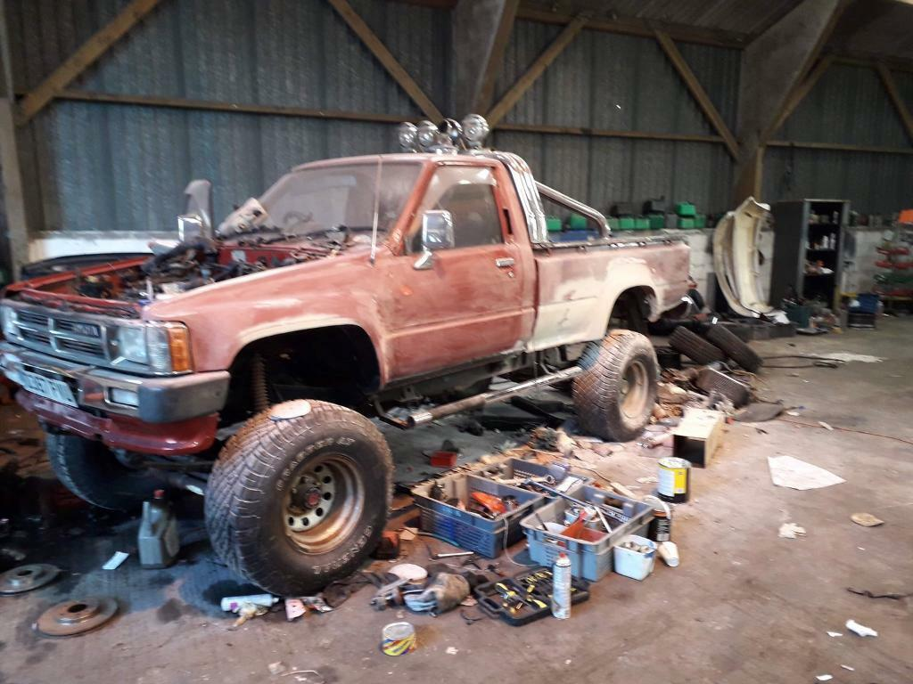 1986 mk2 Toyota hilux monster truck project swap/px | in Banff,  Aberdeenshire | Gumtree