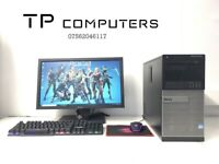 Gaming Computer PC Setup with Monitor (Intel i7 3770, 16GB RAM, 1TB, GTX 1050 Ti), used for sale  Belfast City Centre, Belfast