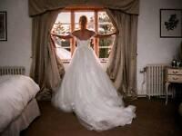 Maggie soterro cossette wedding dress 8-10