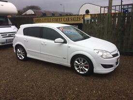 Vauxhall Astra 1.7 turbo diesel 09 Reg 50 mpg £25 a week on finance excellent condition half leather