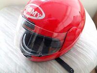 Motorcycle helmet size L