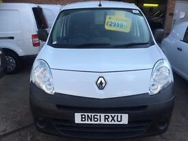 NEW SHAPE RENAULT VAN 1.5DCI 2011/61REG 3 MONTH WARRANTY £2750 NO VAT