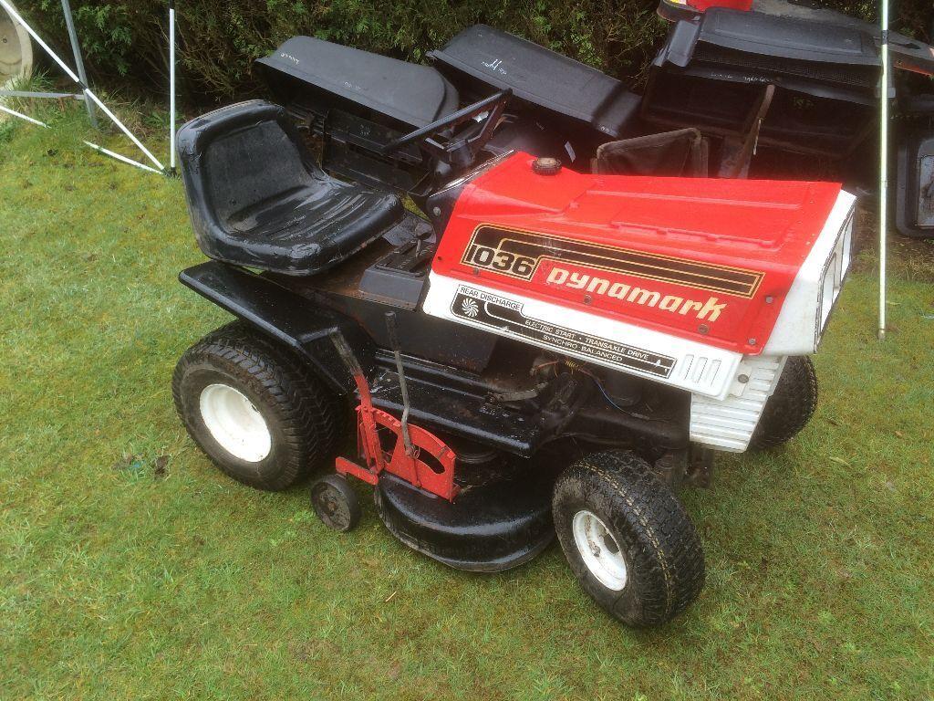 Dynamark Ride On Lawn Mower 10 Hp 36 Cut In Fauldhouse