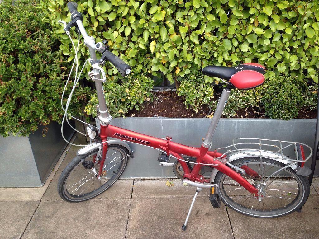 Batavus Intro Versa Folding Bike In Central London