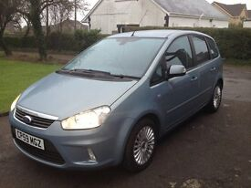 2010 59 Plate Ford Focus CMax, Titanium. 1.8 litre Petrol. Mint condition in and out. Bargain £2,895
