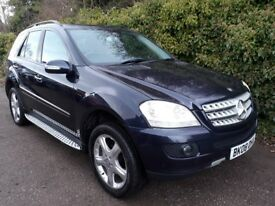 2008 MERCEDES BENZ M CLASS 3.0 ML320 CDI SPORT 7G TRONIC 5 DR SERVICE HISTORY AND BILL
