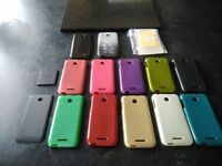 13 phone covers & 20 individual screen protectors for HTC Desire 510