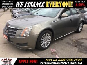 2010 Cadillac CTS 3.0L | AWD | PANORAMIC ROOF |  HEATED SEATS