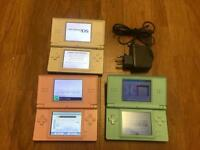Nintendo dsi and ds consoles