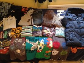 Large bundle of buys clothes ages 5-6