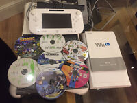 Nintendo Wii U 8GB (includes Wii Fit Balance Board and 7 games)